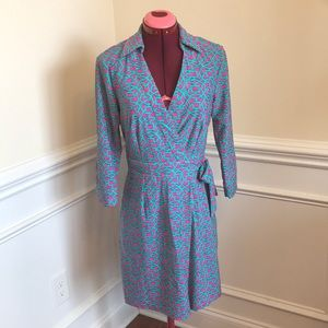 Aryeh Wrap Dress Sz s
